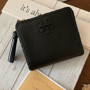 🖤Beautiful Tory Burch black small wallet
